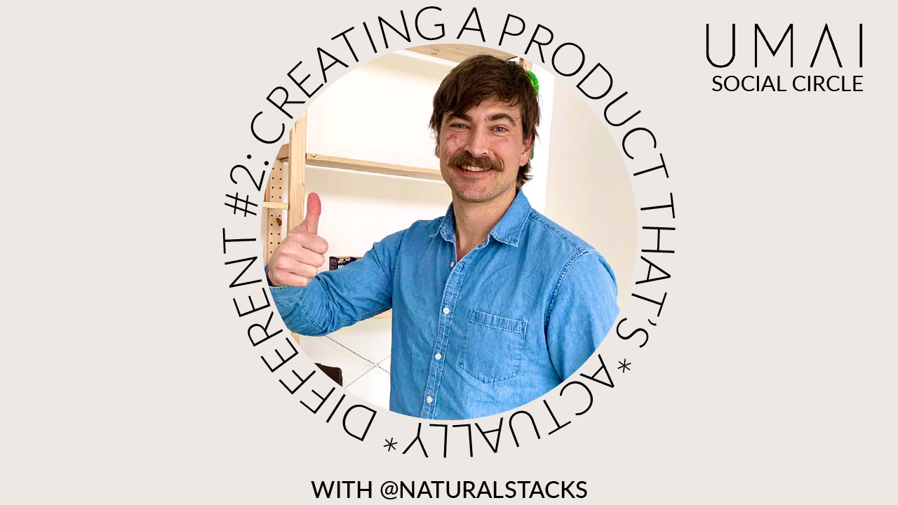 podcast cover image with roy krebs founder of natural stacks